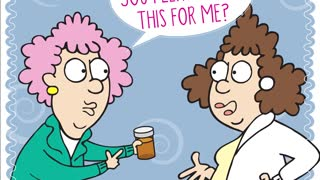 Aunty Acids Daily chuckle- Seniors understanding directions