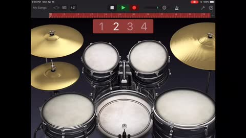 """How to create a """"workable"""" Drum Track in Garage Band [ Easy and Simple ]"""