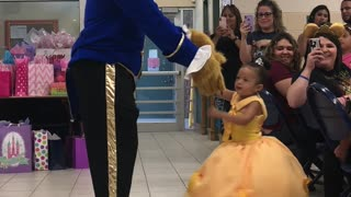 Dad Has A Special Dance For His Daughter's Birthday   - Video