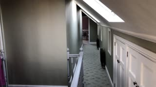 Is this a possible ghost sighting at this creepy old house?