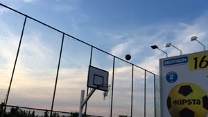 Epic basketball trick shot in slow motion - Video