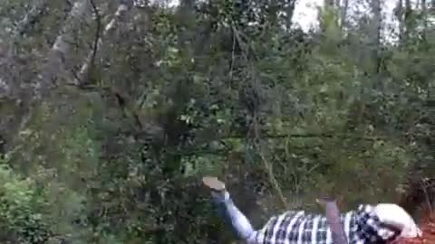 Mountain Bike Backflip Fail!