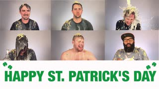 We Dump Lucky Charms On Our Staff For St. Patrick's Day - Video