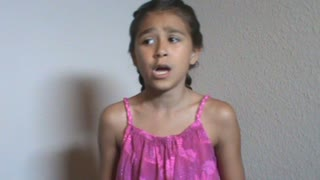 9 year old Dear Theodosia from Hamilton - Video