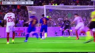 VIDEO: Messi with a lovely pass to set up Arda Turan for Barcelona's opener - Video