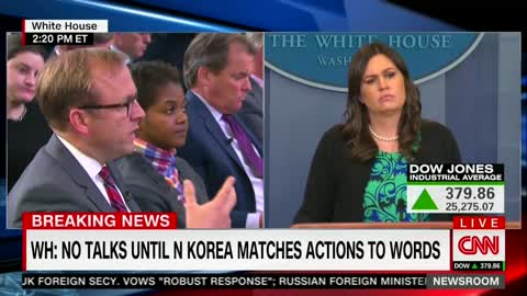 White House: Trump Won't With North Korea Without Seeing 'Concrete' Steps