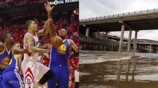 Draymond Green Goes OFF On Reporter For Houston Floods Question - Video