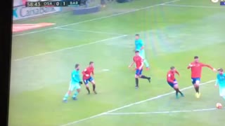 Luis Suarez goal vs Osasuna - Video