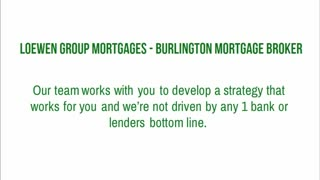 burlington mortgage brokers ontario - Video