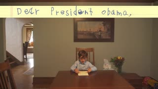 6-year-old writes letter to President Obama offering home to Syrian boy - Video
