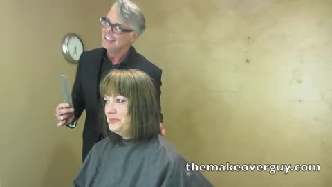 MAKEOVER: Long to Short More Polished and Professional by Christopher Hopkins, The Makeover Guy