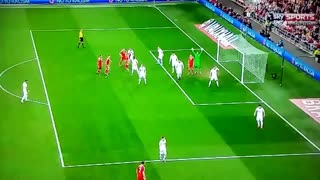 Gareth Bale scored a bullet like goal yesterday. - Video