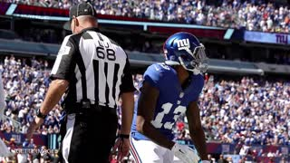 Odell Beckham Jr. FREAKS OUT AGAIN, Has WORST Game of Career - Video