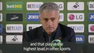 José Mourinho Post Match Interview - Video