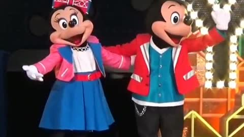 Umbrella End Show Minnie Mouse Miss