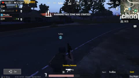 Night Road School Searching Pubg Game