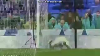 Ronaldo amazing header goal vs Sporting - Video