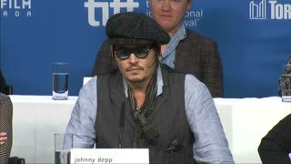 "Johnny Depp brings ""Black Mass"" to TIFF - Video"
