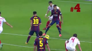 Top 5 goals - Spanish primera liga - week 12 - Video