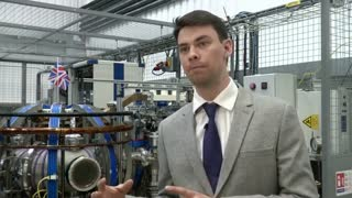 Fusion power getting closer, say UK scientists - Video