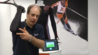 Xelflex smart fabric gives intelligent feedback for athletes - Video