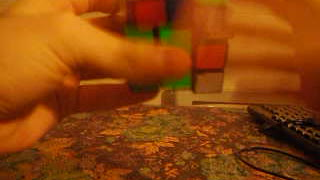 Me solving 3x3 Rubik's Cube in less 35 seconds - Video