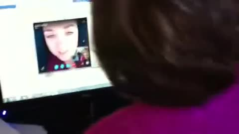 Daughter's fake Skype call with mom leads to emotional surprise visit