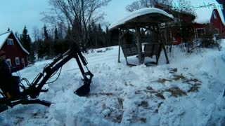 Shovel that XXXking snow again... - Video