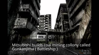 Gunkanjima Japan - The Battleship - Most terrifying ghost towns - Video