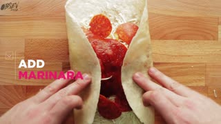 Pizza Chimichanga - Video