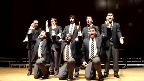 A Capella Group Has The Crowd Erupting In Laughter