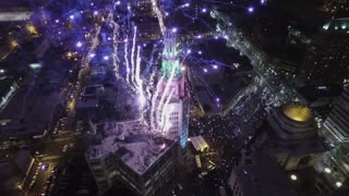 New Years Eve 2015 Ball Drop: Buffalo, New York - Video