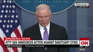 Jeff Sessions Threatens Sanctuary Cities - Video