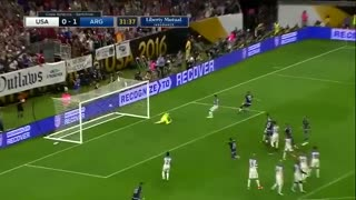 VIDEO: Messi incredible free-kick goal vs USA - Video