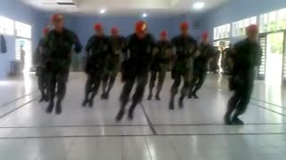 Indonesian Army Dance - Video
