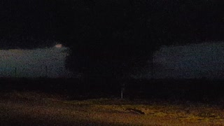 November Tornado Hits Plains, KS - Video