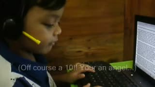 Youngest Call Center  Agent - Video