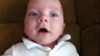 "4 Month Old Talking Baby, Says ""Colorado"" - Video"