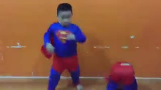 Two brothers superheroes - Video