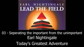 Separating The Important From The Unimportant - Earl Nightingale - Video