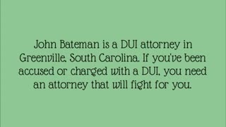 greenville dui lawyer - Video
