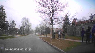 High Winds Knock Down Kids - Video