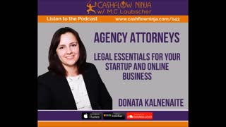 Donata Kalnenaite Shares Legal Essentials For Your Startup and Online Business