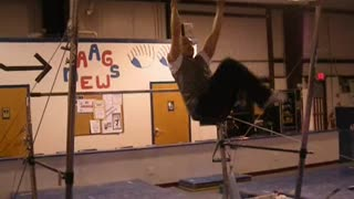 STOMACH/CORE CONDITIONING EXERCISES ON BAR (Gymnastics/General Strength) - Video