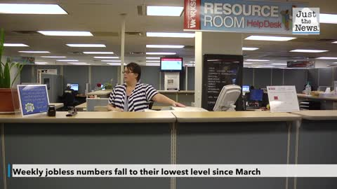 Weekly jobless numbers fall to their lowest level since March