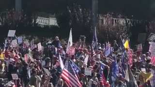 """AUDIT THE VOTE"" - Trump Supporters gather at Harrisburg Capitol Building - Massive Turnout"
