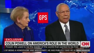Colin Powell Trash-Talking President Donald Trump