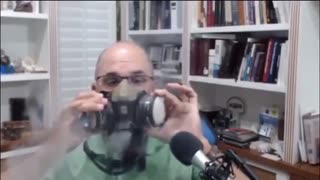 Doctor Uses Vape To Show How Masks Don't Work