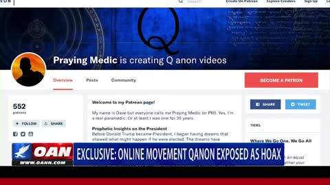 Exposed - Creator of #QAnon Speaks for the First Time - OANN 9/4/2018