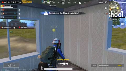 Pubg Mobile Game Super Hero 1 Player in Team Till Chicken Winner End With AKM